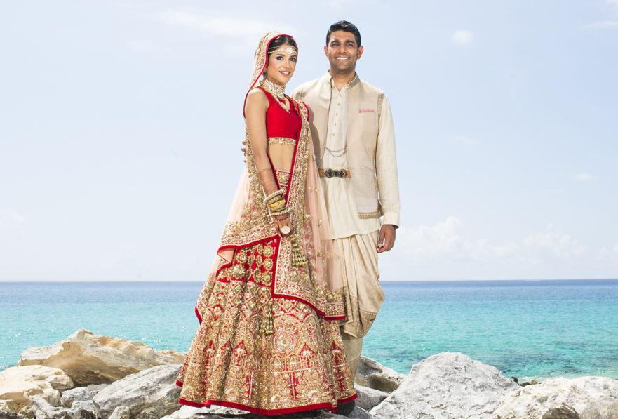 Neeraj and melanie wedding