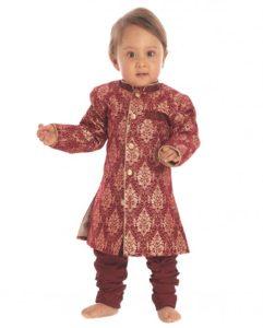 Maroon-Brocade-Sherwani-Set-SDL080915779-1-ccdbe
