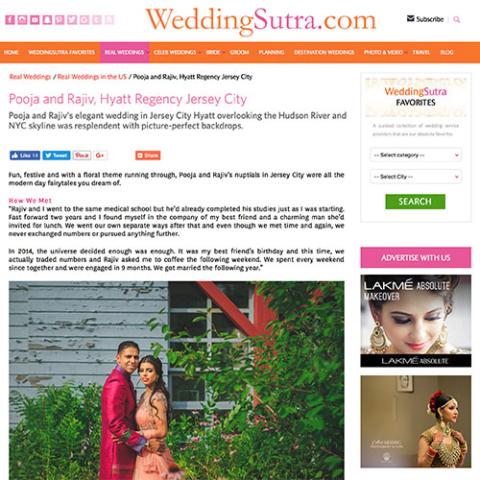 WeddingSutra.com - Pooja and Rajiv