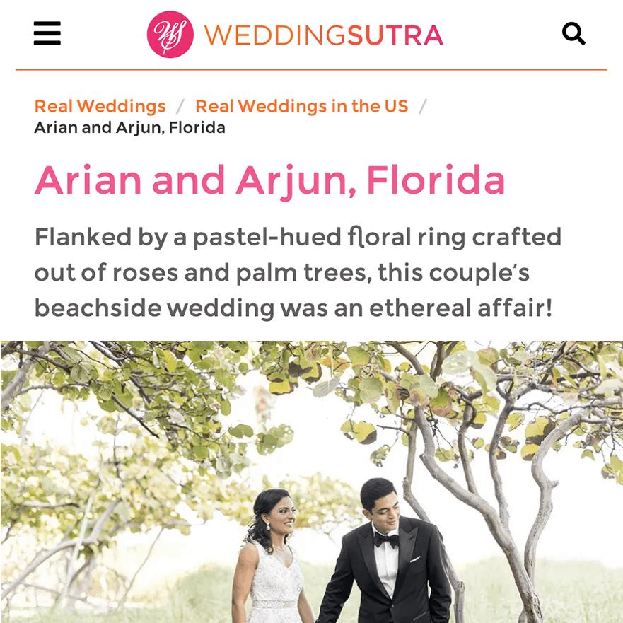 Wedding Sutra Arian Arjun