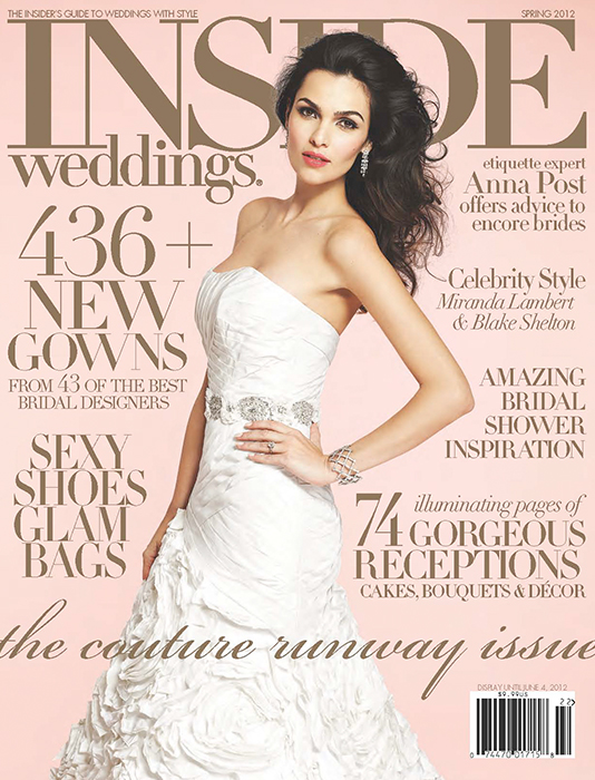 Inside Weddings Spring 2012