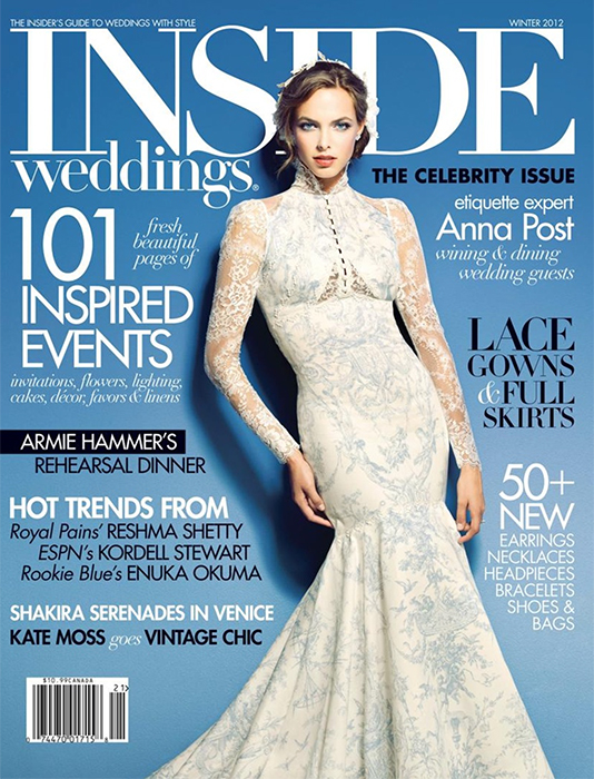 Inside Weddings Winter 2012
