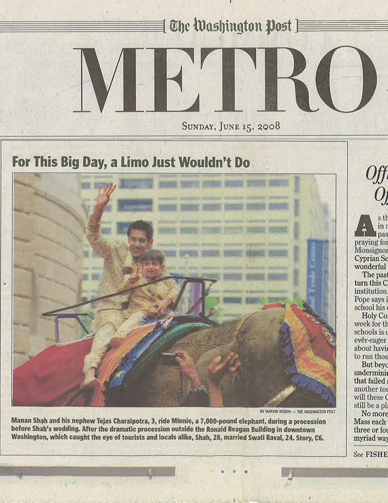 The Washington Post Metro 2008