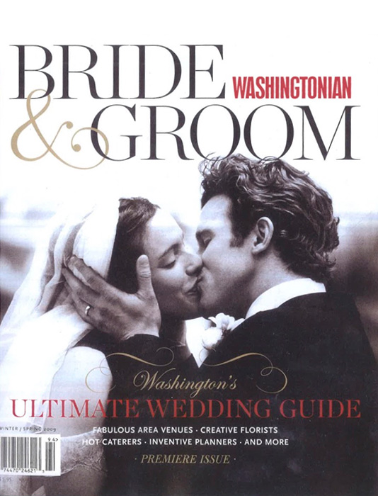 Washingtonian Bride Groom Winter Spring2009