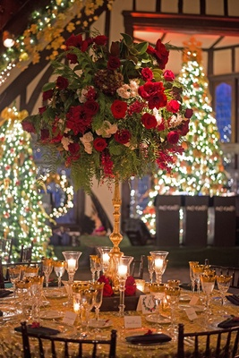 red and green christmas reception decor sonal j shah event consultants llc - Red White Green Christmas Decor