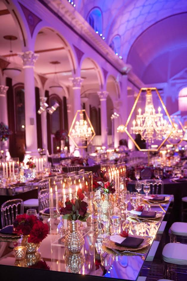 Wedding Reception Candles Everywhere Sonal J Shah Event