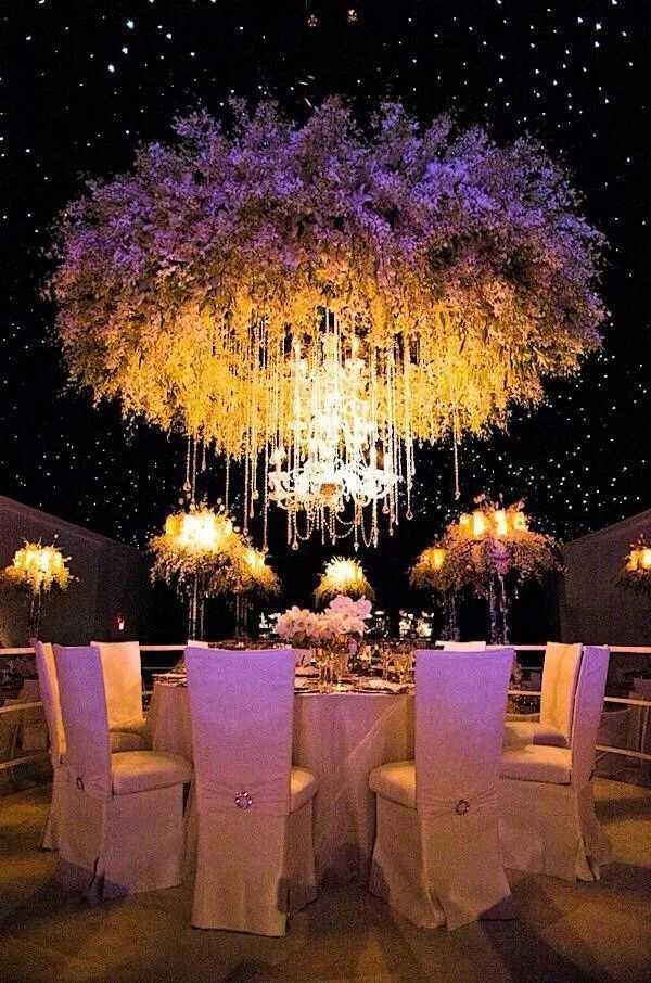 Floral chandeliers we love sonal j shah event consultants llc aloadofball Gallery