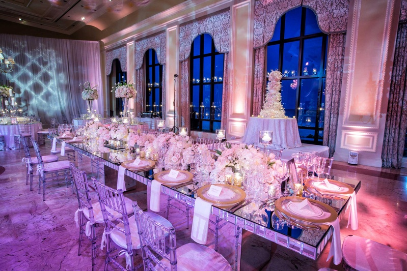 Mirrored And Diamond Themed Wedding Sonal J Shah Event