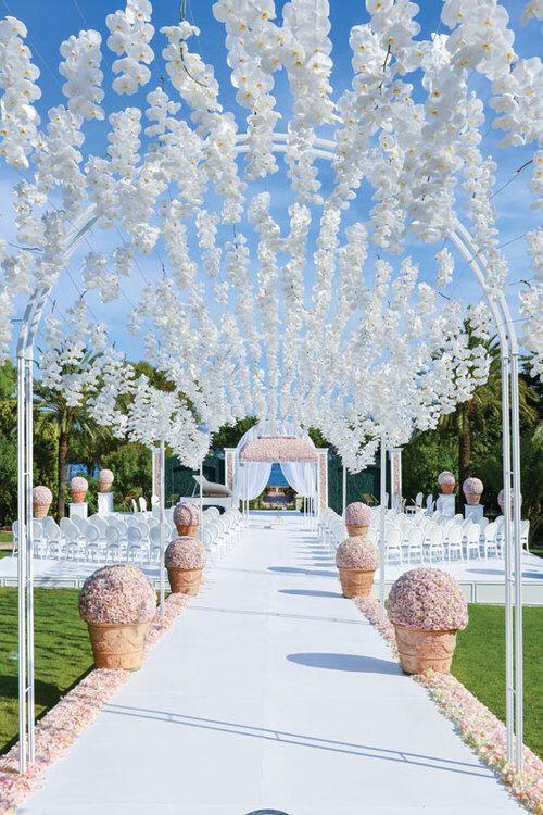 Luxury Outdoor Wedding Ceremony Inspiration Sonal J Shah Event