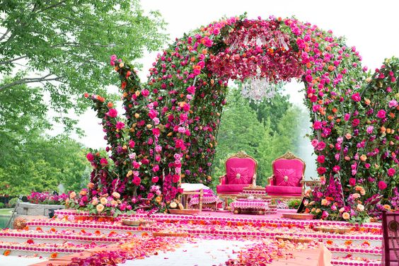 Luxury Wedding Indoor: LUXURY OUTDOOR WEDDING CEREMONY INSPIRATION