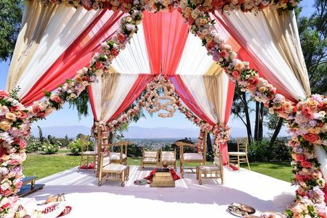 Luxury Outdoor Wedding Ceremony Inspiration Sonal J Shah Event Consultants Llc